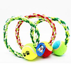 ieftine Jucării Câini-Jucării Animale Jucării de Mestecat Funie Minge tenis