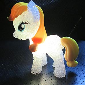 levne LED noční osvětlení-Figurka Lampa Měnící barvy / Malé umělecké / Moderní soudobé 1 ks