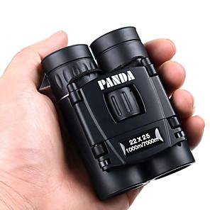 ราคาถูก กล้องส่องทางไกล-PANDA 22 X 25 mm กล้องส่องทางไกล เลนส์ ความละเอียดสูง ทั่วไป กล่องหิ้ว การเคลือบหลายชนิด ม BaK4 มุมมองกลางคืน ยาง / การล่าสัตว์