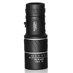 ieftine Binocluri-16 X 55 mm Monocular High Definition Trusă Vedere nocturnă Cauciuc