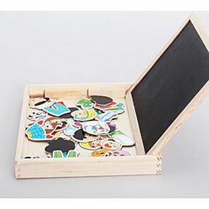 ieftine Fâșii Becurie LED-1 pcs Puzzle Stack magnetic Jucării Educaționale Novelty De lemn Pentru copii Jucarii Cadou
