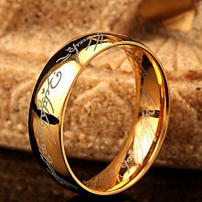 povoljno Prstenje-Muškarci Band Ring Zlato Tikovina Jewelry