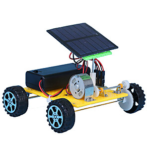 cheap Display Models-Solar Powered Toy Ship Solar Powered DIY ABS Kid's Boys' Girls' Toy Gift