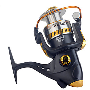 ieftine Role Pescuit-Horgászorsók Role de filare 2.6:1 Raport Transmisie+13 Rulmenti mână Orientare schimbabil Pescuit în General - DF3000