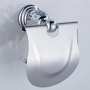ieftine Gadget Baie-Suporturi De Hârtie Igienică Contemporan Alamă 1 piesă - Hotel baie