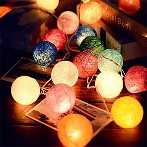 ieftine Fâșii Becurie LED-2.5m Fâșii de Iluminat 20 LED-uri Crăciun decor de nunta 110-220 V