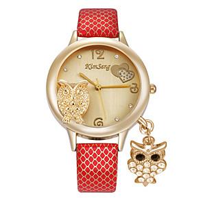 ieftine Cuarț ceasuri-Pentru femei Ceas de Mână Simulat Diamant Ceas Diamond Watch Quartz femei imitație de diamant Multicolor Analog - Alb Negru Rosu / Oțel inoxidabil
