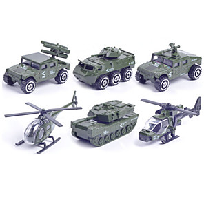 cheap Display Models-Toy Car Vehicle Playset Military Vehicle Police car Car Helicopter Classic & Timeless Chic & Modern Boys' Girls' Toy Gift / Metal