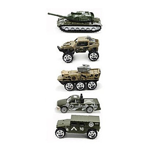 cheap Display Models-Toy Car Vehicle Playset Model Car Military Vehicle Chariot Simulation Classic & Timeless Chic & Modern Boys' Girls' Toy Gift / Metal