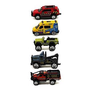 ieftine Produse Fard-1:64 Plastic Mașini Raliu Toy Trucks & Vehicule de constructii Jucării pentru mașini Seturi de joc pentru vehicule Pentru copii Jucării auto