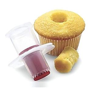 tanie Przybory i gadżety do pieczenia-ciasto otwór ekspres ciasto muffin cupcake corer dekorowanie model narzędzia