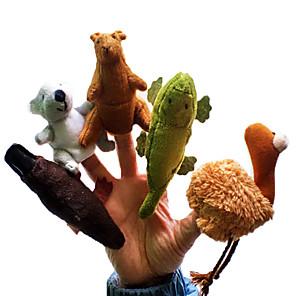 저렴한 돋보기-손가락 인형 노블티 직물 면 5 pcs 장난감 선물