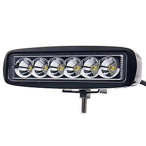 ieftine Becuri LED Încastrate-otolampara 1 piesa motocicleta atv suv masina camion 18w de înaltă performanță a condus lumina de lucru bar