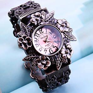 ieftine Cuarț ceasuri-Pentru femei Ceas La Modă Quartz Negru Analog - Alb Mov Rosu