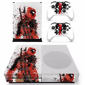 ieftine Accesorii Xbox One-B-SKIN XBOX ONE  S PS / 2 Acțibild Pentru Xbox One S . Novelty Acțibild PVC 1 pcs unitate