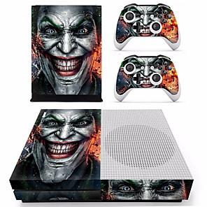 ieftine Accesorii Xbox One-B-SKIN XBOX ONE  S PS / 2 Acțibild Pentru Xbox One S . Novelty Acțibild PVC 2 pcs unitate