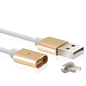 ieftine LED-uri-Iluminare Cablu 1m-1.99m / 3ft-6ft Normal / Magnetic Plastic Adaptor pentru cablu USB Pentru iPad / Apple / iPhone