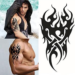 povoljno Ukrasne naljepnice-1 pcs Privremene tetovaže Vodootporno / 3D Brachium / Prsa Papir Tetovaže naljepnice