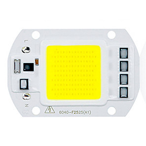 ieftine LED-uri-1pc 50w utral luminoase led cob cip 110v 220v intrare inteligent ic pentru diy condus lumina de inundații cald rece alb