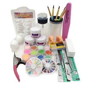 ieftine Produse Fard-1set Nail Art Kit Pentru Unghie Unghie deget picior nail art pedichiura si manichiura Șic & Modern / La modă