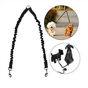ieftine Câini Gulere, hamuri și Curelușe-Câine Lese Mâinile Leash Free Reflexiv Ajustabile / Retractabil Alergat Mată Nailon Cauciuc Negru Rosu Albastru