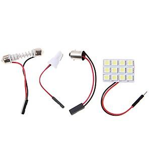 ieftine Lumini de Interior Mașină-2pcs BA9S Mașină Becuri 4.5W SMD 5050 320lm LED Lumini de interior