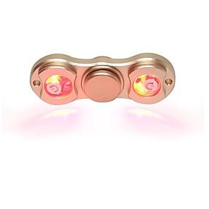 povoljno Naušnice-Moderni zvrkovi Ručni Spinner High Speed za ubijanje vremena Stres i anksioznost reljef Dva Spinner Metalic Klasik Igračke za kućne ljubimce Poklon / LED svjetlo