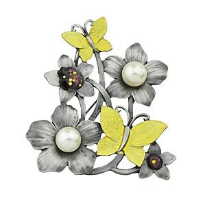 ieftine Ustensile & Gadget-uri de Copt-Pentru femei Broșe femei De Bază Broșă Bijuterii Galben Pentru Casual