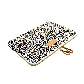 ieftine Colier la Modă-Mâneci Imprimeu Leopard pânză pentru MacBook Pro 13-inch / MacBook Air 11-inch / MacBook Air 13-inch