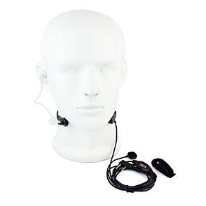 ieftine Walkie Talkies-gât mic ptt căști walkie talkie ascunse tub acustic pentru baofeng 365 wanhua tyt hyt