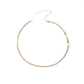 ieftine Bijuterii de Corp-Lanț de Talie Modă Pentru femei Bijuterii de corp Pentru Petrecere Ocazie specială Articole de ceramică Auriu