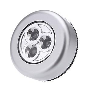 levne LED noční osvětlení-LED noční světlo Skříňka / Skříň / Kuchyňská skříňka Moderní soudobé Baterie AAA Powered 1ks