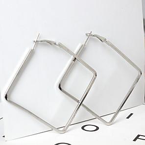 ieftine Becuri De Mașină LED-Pentru femei Cercei Picătură femei Γεωμετρικά Modă cercei Bijuterii Auriu / Argintiu Pentru Zilnic