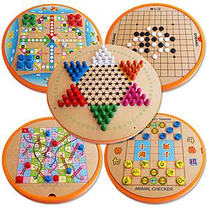 ieftine Modele Ecran-Jocuri de masă Carouri Șahul avionului Schițe Șahul Junglei Lemn Profesional Pentru copii Adulți Unisex Băieți Fete Jucarii Cadouri