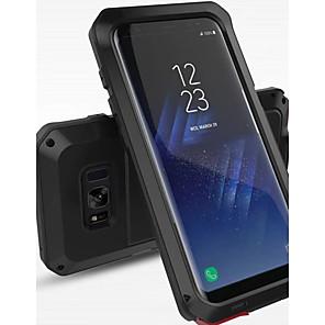Недорогие Чехол Samsung-Кейс для Назначение SSamsung Galaxy S8 Plus / S8 Защита от удара / Защита от влаги Чехол Однотонный Твердый Металл