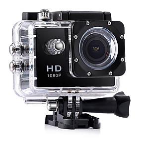 ieftine Accesorii GoPro-CA7 Vlogging Rezistent la apă / Multifuncțional / Unghi Larg 32 GB 60fps / 120fps / 30fps 12 mp 1920 x 1080 Pixel 2 inch CMOS Mod Cascadă / Timelapse 30 m