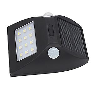 ieftine Aplice de Exterior-3 W Proiectoare LED Rezistent la apă / Senzor cu Infraroșii / Ușor de Instalat Alb Natural / Multicolor Lumina Exterior 12 LED-uri de margele