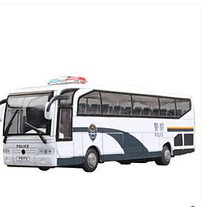 ieftine Imbracaminte & Accesorii Căței-Jucării pentru mașini Vehicul de Construcție Mașini de Poliție Autobuz Muzică și lumină Jucarii Cadou