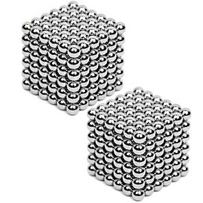 ieftine Jucării cu Magnet-2*216 pcs 3mm Jucării Magnet Lego Super Strong pământuri rare magneți Magnet Neodymium Cuburi Magice Prop Magic Magnetic Reparații Pentru copii / Adulți Băieți Fete Jucarii Cadou