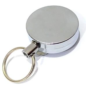 ieftine Organizare Blat & Perete-ușor trage catarama retractabil catarama trece ID-ul carte de insigna titularul bobina rotund solid trage catarama