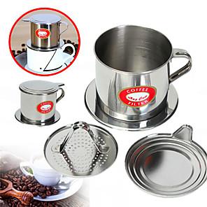 ieftine Frontale-vietnam filtru de cafea picurare filtru vietnamez tradițional filtru de cafea filtru de cafea infuzor de cafea 5,5 x 6,5 cm