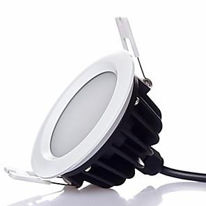 ieftine Becuri LED Încastrate-zdm 1pc impermeabil diminuare de înaltă calitate îngroșare 7w 500-600lm condus led-uri de margele margele cald alb / rece alb 220-240v