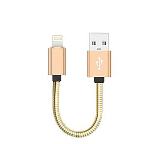 ieftine Pânză Pescuit-USB 2.0 / Iluminare Cablu <1m / 3ft Portabil / Înaltă Viteză Aluminiu / MetalPistol Adaptor pentru cablu USB Pentru Macbook / iPad / MacBook Air