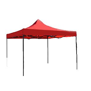 ieftine Echipament Outdoor-Σκηνή για κάμπινγκ Σκηνή-κάλυμμα σκιάς În aer liber Impermeabil Rezistent la Ultraviolete Cu un singur strat Cort de campare pentru Camping Fier