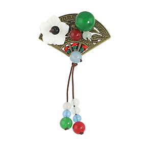 ieftine Ustensile & Gadget-uri de Copt-Pentru femei Broșe Leaf Shape femei Ciucure Broșă Bijuterii Verde Pentru Casual