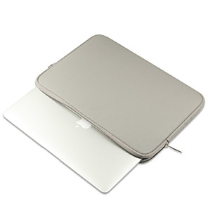 "billige MacBook Air 13""-etuier-Ermer Ensfarget PU Leather til Ny MacBook Pro 13"" / MacBook Air 13 "" / MacBook Air 11 """