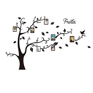 ieftine Acțibilde de Decorațiuni-Peisaj / Botanic / #D Perete Postituri Autocolante perete plane Autocolante foto, Hârtie / Vinil Pagina de decorare de perete Decal Perete / Sticla / Baie Decor 1 buc
