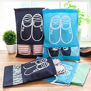 ieftine Organizatoare Birou-1 buc Organizator de călătorii Geantă Pantofi Geantă de Pantofi Călătorie Capacitate Înaltă Uscare rapidă Ultra Ușor (UL) pentru Haine Material Textil / Călătorie / Durabil