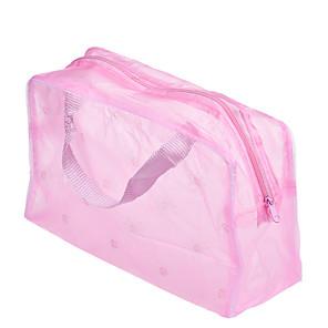1 stk bærbar vanntett makeup kosmetisk toalettpapir reisearrangør kosmetikkpose farge tilfeldig