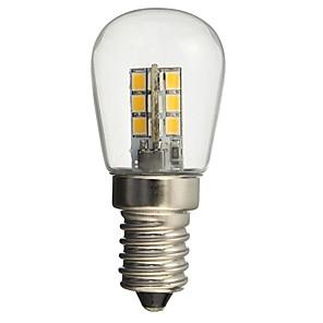 ieftine Becuri LED Glob-hkv® led led e14 1w 2835smd 24 de sticlă umbra 360 grade iluminare unghi cald alb rece pentru frigider mașină de cusut